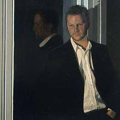 """Iain Faulkner (Scottish, born 1973)  """"Self Portrait"""""""
