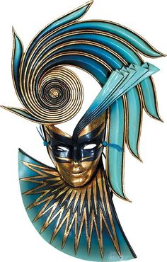 Fiorenza Mask by Michael Taylor