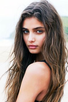 Taylor Hill by Della Bass in Water Baby for Fashion Gone Rogue. Loving her bold brows.
