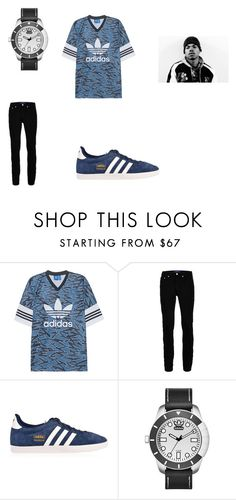 """""""A chance with the rapper"""" by jc-and-k-dot23 ❤ liked on Polyvore featuring adidas Originals and Wood Wood"""