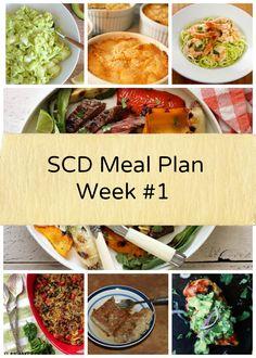 SCD Meal Plan Week #1 kathywurster.com