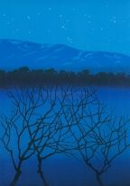 Eva Harr - Evig hymne Northern Lights, Artists, Fine Art, Contemporary, Mountains, Nature, Travel, Art, Voyage
