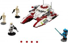 LEGO Star Wars Republic Fighter Tank 75182 Building Kit >>> For more information, visit image link. Legos, Starwars, Lego Construction, All Lego, Battle Droid, Lego Toys, Lego City, Online Gifts, Toys