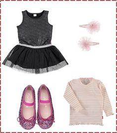 Christmas outfit little girl- Look niña para Navidad Love My Job, Little Girls, Blog, Christmas, Outfits, Image, Fashion, Xmas, Moda
