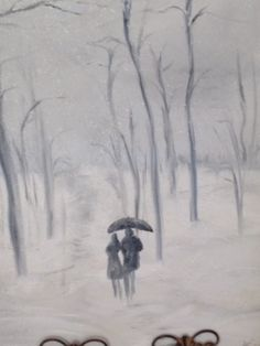 The lovers, oil on canvas. Artist: Kare Dreher