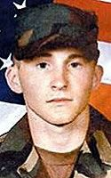 Army Pfc. Nathaniel E. Detample  Died August 9, 2005 Serving During Operation Iraqi Freedom  19, of Morrisville, Pa.; assigned to the 1st Battalion, 111th Infantry Regiment (Mechanized), Pennsylvania Army National Guard, Philadelphia; killed Aug. 9 when a mine exploded and enemy forces attacked using small-arms fire as he was investigating a rocket-propelled grenade incident in Bayji, Iraq.