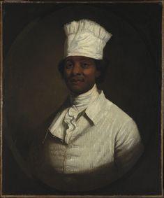 Gilbert Stuart, Portrait of George Washington's Cook ca. 1795-97