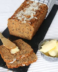 Gluten Free Recipes, Baking Recipes, Healthy Recipes, Healthy Food, Bread Bun, Swedish Recipes, Breakfast Snacks, Low Carb Bread, Something Sweet