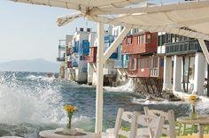 #Mykonos, #Greece #sea #travel