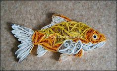 Gold fish :) / quilling