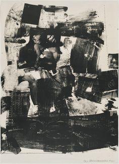 kip up,1964, robert rauschenberg