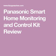 The Panasonic Smart home offers wireless monitoring of your home, so you can be reassured that your home is secure wherever you are.