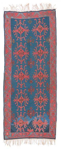 Awar Kilim 320 x 134cm (10ft. 6in. x 4ft. 5in.) Caucasus, late 19th century