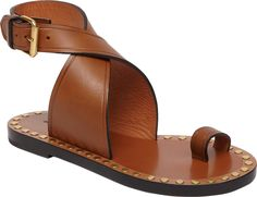 Ankle Strap Leather Sandal | Isabel Marant | LOIT