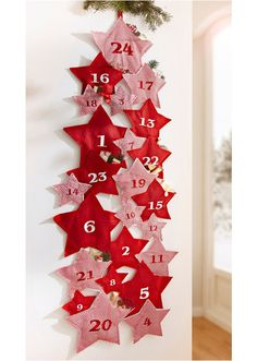 Your place to buy and sell all things handmade Advent Calendar Star Advent Calendar Star by BrightBride DIY ideas Christmas Sewing, Felt Christmas, Christmas And New Year, Handmade Christmas, Christmas Holidays, Christmas Ornaments, Christmas Trees, Xmas, Christmas Candles