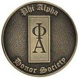 Member of Phi Alpha National Honor Society :) ...shu has such a higher standard for membership qualifications.