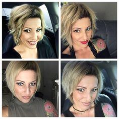171 Likes, 5 Comments – Sandra Goncalves (Sandra S… – - Kurzhaarfrisuren Messy Short Hair, Short Hair Cuts, Short Hair Styles, Messy Bun, Coiffure Hair, Pelo Pixie, Hairstyles With Bangs, Hair Dos, Bobs