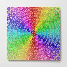 Colorful Mandala Flower Metal Print by David Zydd #MandalaMetalPrint #BestMetalPrints #Mandala #Color #Meditation #MandalaWallDecor #MandalaGraphic #Geometric #Arts #Geometry (tags: sacred geometry, mandala decor, gift, sacred, art, hippie, pattern, mandala print, art print, chakra, mandala wall decor, geometry, print, colorful mandala, mandala home decor, spiritual, abstract, blossom) Mandala Artwork, Mandala Print, Flower Mandala, Flower Art, Flower Paper, Art Prints For Sale, Framed Art Prints, Canvas Prints, Mandala Blanket