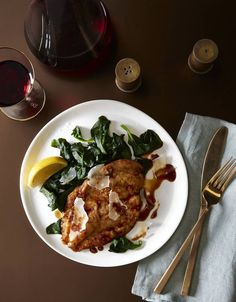 Massimo Bottura's Recipe for 'Family-Meal' Chicken With Sautéed Spinach