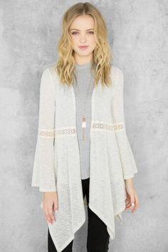 Aline Crochet Wrap