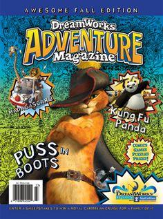 DreamWorks Adventure Magazine