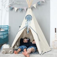 Teepee Tent Indian Tent Campground by HOPhandmadeofpassion with a cool dreamcatcher Source by