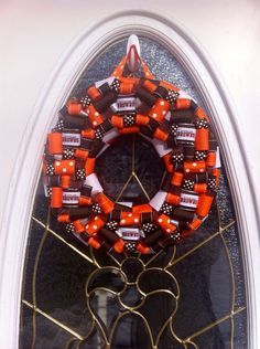 Cleveland Browns Wreath by WeHaveWreaths on Etsy, $46.00