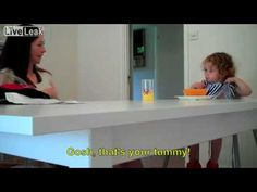 2 Years Old Girl Having A Conversation With Her Mom Both Are Deaf
