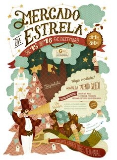 Mercado da Estrela on Behance