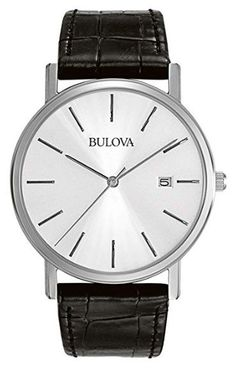 Bulova 96B104 Men's Stainless Steel Dress Watch