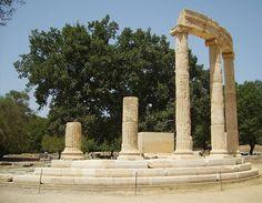 The Philippeion. Olympia, Greece. 339 B.C.