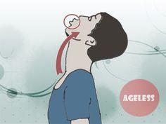 Как устранить провисание щек и удлинить шею