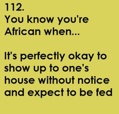 african hospitality