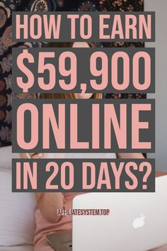 How to earn $59,900 online in 20 days? | Work From Home | Personal Finance Tips | Affiliate Marketing | Online Jobs | Make Money | Passive Income | Business