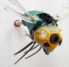 CyberBug coming at ya! It's only dangerous if you're a robot  #recycle #robot #cyber #recycle