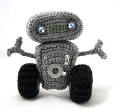 Peluches Robot Crochet Pattern   Pique-nique d'écureuil
