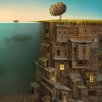 Surreal Worlds Digitally Painted by Gediminas Pranckevicius