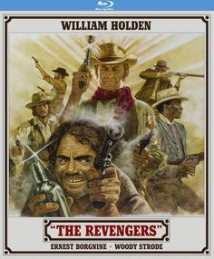 The Revengers - Blu-Ray (Kino Lorber Region A) Release Date: Available Now (Amazon U.S.)