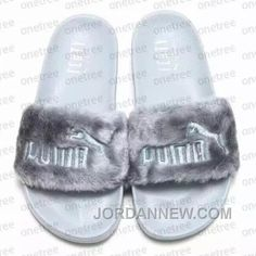 http://www.jordannew.com/puma-by-rihanna-leadcat-fenty-grey-slides-fur-slide-cheap-to-buy.html PUMA BY RIHANNA LEADCAT FENTY GREY SLIDES FUR SLIDE CHEAP TO BUY Only $65.00 , Free Shipping!