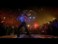 John Travolta - Saturday Night Fever (1977) - WoW Human Male Dance Disco Theme, Saturday Night Fever, John Travolta, Dance Art, Inspirational Videos, Just Dance, Real Man, Ballet, Songs