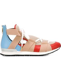 VIONNET Open Low-Top Sneakers. #vionnet #shoes #sneakers