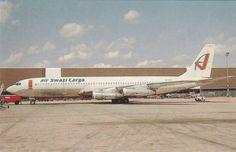 AIR SWAZI CARGO BOEING B707 344C AIRCRAFT (A11864) - 1946-....: Ere Moderne