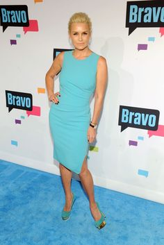 Yolanda Foster: Real Housewives of Beverly Hills (RHOBH): Celebs at the Bravo New York Upfront