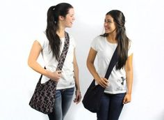 Crossbody bags - Give a gift that gives back. These cross body bags help support women who have been rescued out of sex trafficking.