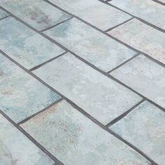 "EliteTile Biarritz Series 3"" x 6"" Ceramic Brick Look Subway Tile & Reviews | Wayfair Fireplace Facade, Fireplace Surrounds, Ceramic Subway Tile, Subway Tiles, Stone Mosaic Tile, Mosaic Tiles, Marble Mosaic, Mosaic Wall, Install Backsplash"
