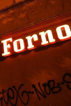 Ferrari Forno Rome, Ferrari, Neon Signs, Rum, Rome Italy