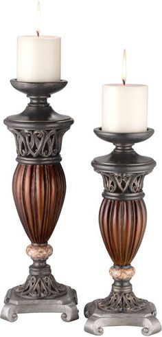 Ok Lighting OK-4190C Candle Holder Set