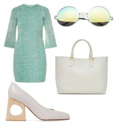 """""""Work wear 4"""" by xeebae on Polyvore featuring STELLA McCARTNEY, Marni and ShoeDazzle"""