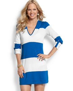 Tommy Bahama - Bold Stripe Beach Sweater