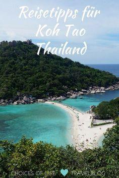 Koh Tao - Taucherparadies im Golf von Thailand Thailand Destinations, Thailand Travel Tips, Phuket Thailand, Top Destinations, Backpacking South America, Backpacking Asia, Places To Travel, Places To See, Thailand Elephants